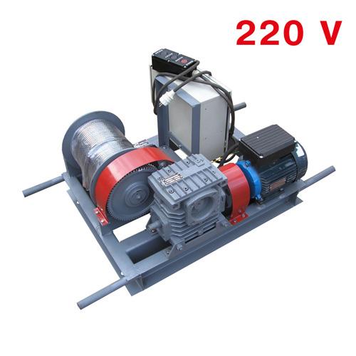 Лебёдка электрическая однофазная  ЛЭО-0,5-100