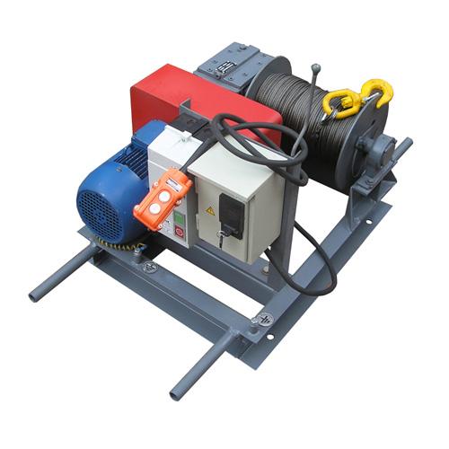 Лебідка електрична червячна ЛЭЧ-0,25-200