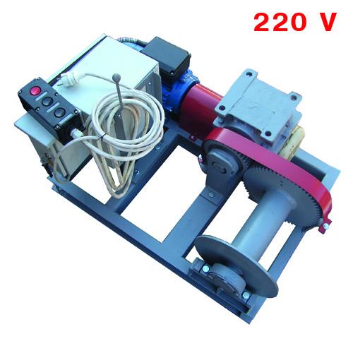 Лебёдка электрическая однофазная  ЛЭО-0,5-60